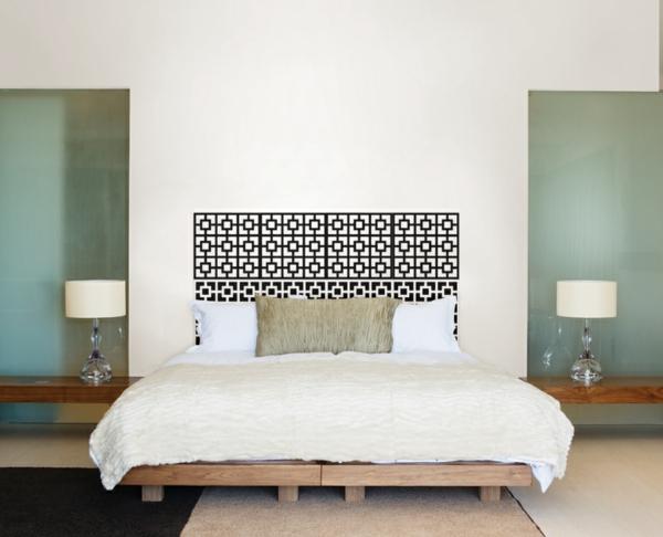 cool-decoration-comme-de-ntelle-et-style-propre-pour-chambre-à-coucher
