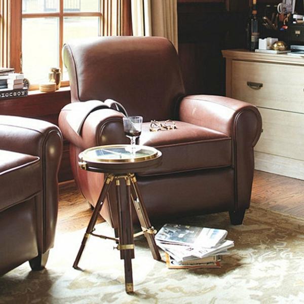 cool-design-du-salon-an-cuir-avec-une-table