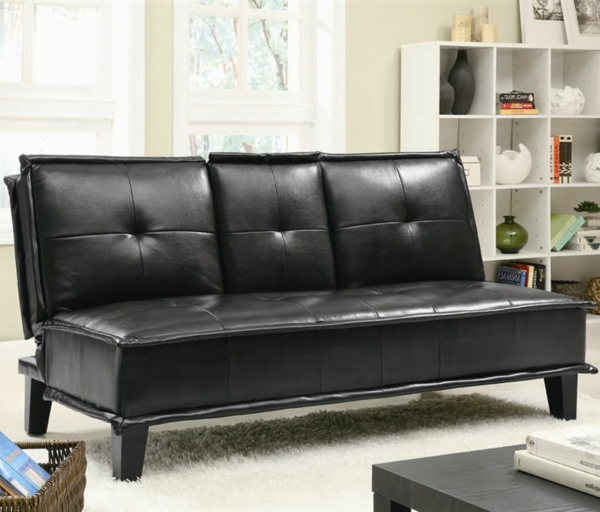 Le canape clic clac archzinefr for Nettoyage tapis avec canape blanc cuir design