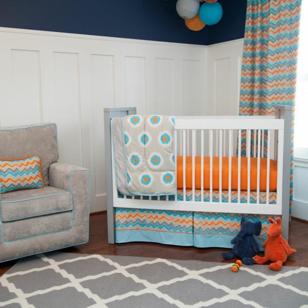 cool-design-pour-votre-chambre-coloré-avec-un-matelas-orange-et-couleur