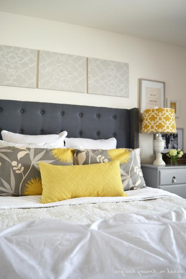 cool-idée-pour-votre-lit-et-la-chambre-à-coucher-en-jaune-retro-style
