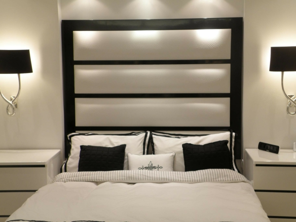 diff rents mod les de t te de lit. Black Bedroom Furniture Sets. Home Design Ideas
