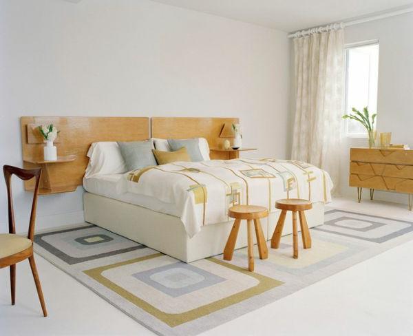 cool-scandianve-idée-avec-des-chaises-en-bois-couvertureet-tapis-figural