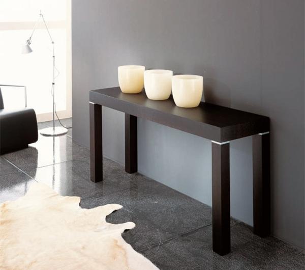 cool-style-de-longe-table-et-décoration-de-bougie