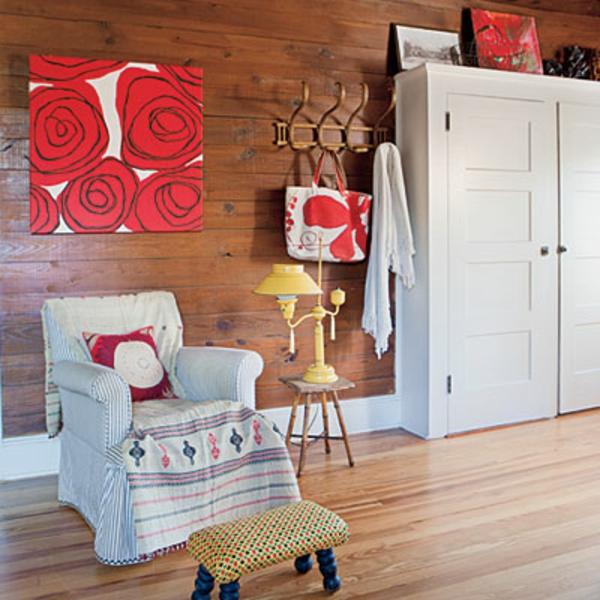 décoration-vintage-armoire-fauteuil-et-armoire