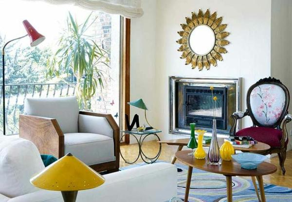 décoration-vintage-chaises-et-table-vintage