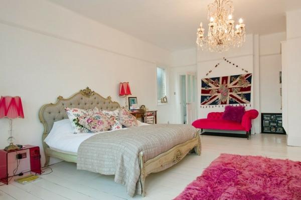 décoration-vintage-chambre-à-coucher-shabby-chic