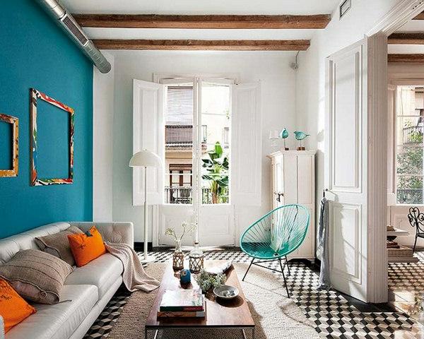décoration-vintage-espace-rétro-moderne