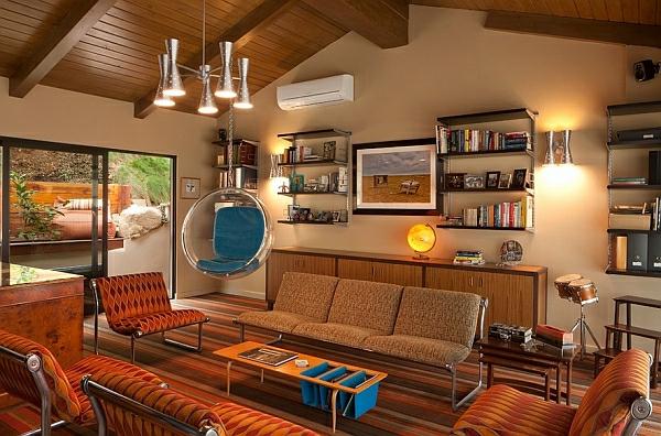 décoration-vintage-fauteuil-suspendu