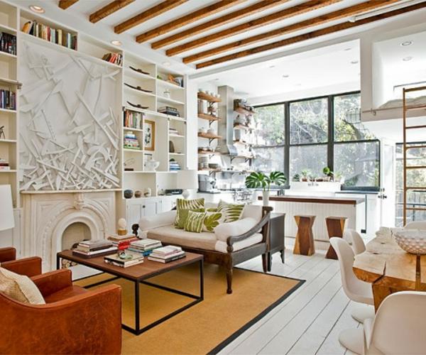 décoration-vintage-intérieur-élégant-épuré