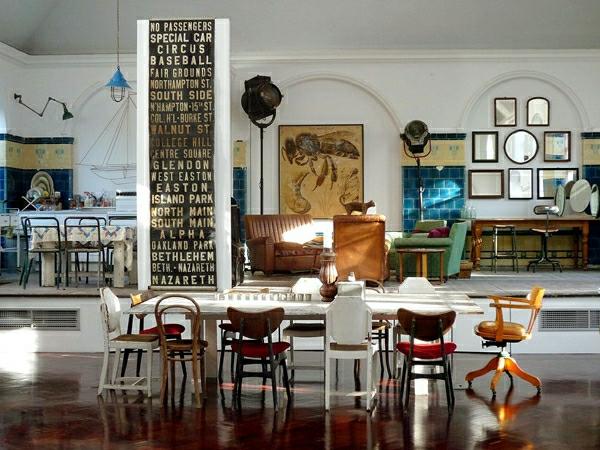 décoration-vintage-intérieur-superbe-à-éléments-vintage
