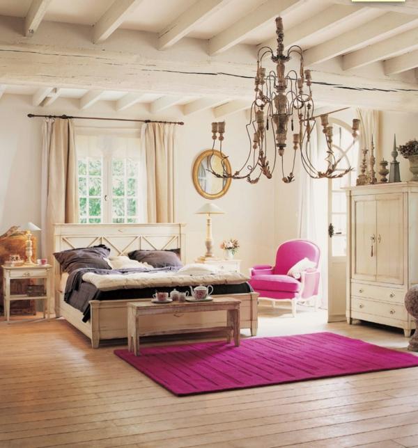décoration-vintage-rustique-pour-une-chambre-d'ado-fille