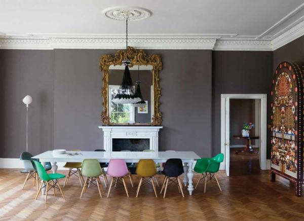 décoration-vintage-salle-à-manger-artistique
