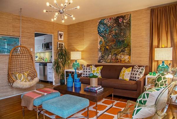 décoration-vintage-salle-de-séjour-moderne-déco-vintage