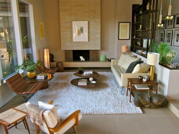décoration-vintage-salon-vintage-moderne