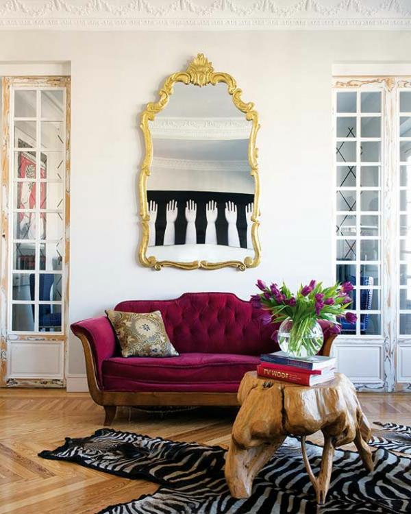 décoration-vintage-sofa-pourpre