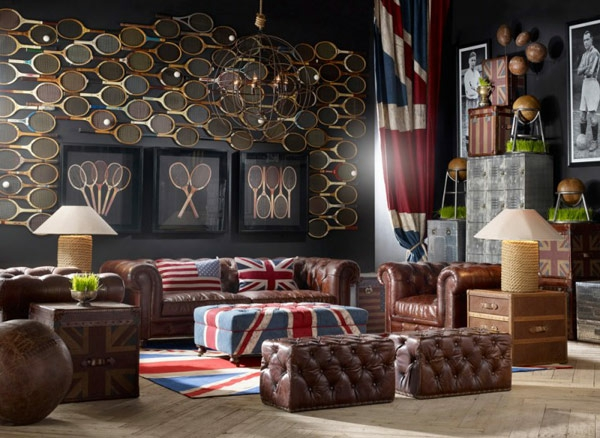 d coration vintage pour les espaces modernes. Black Bedroom Furniture Sets. Home Design Ideas