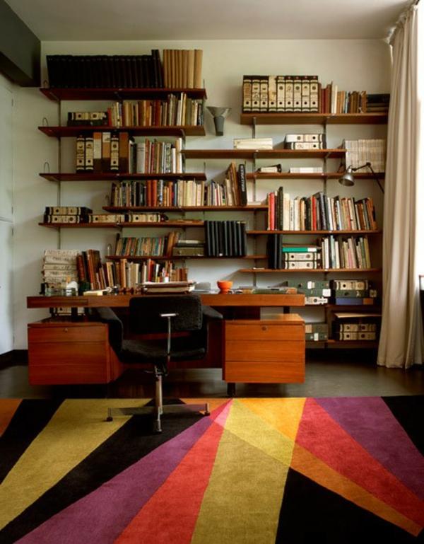 décoration-vintage-tapis-multicolore