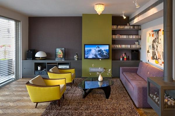 décoration-vintage-vision-rétro-élégante-salle-de-séjour