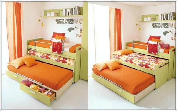 design-en-orange-pour-votre-lit-gigogne-en-ver