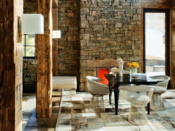 pierre-naturelle-pour-l'intérieur-espace-rustique-déco-en-bois-et-pierre