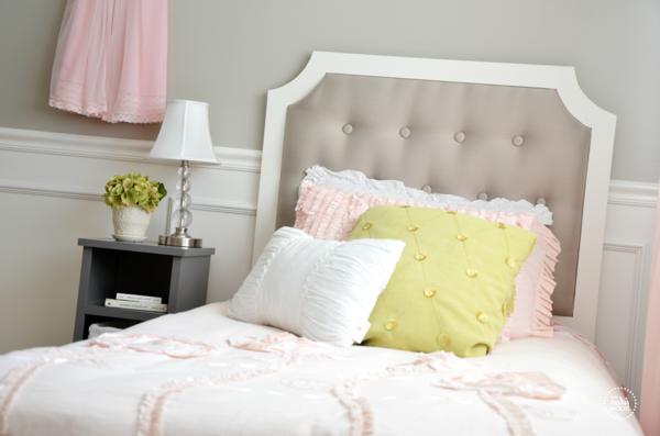 Différents modèles de tête de lit