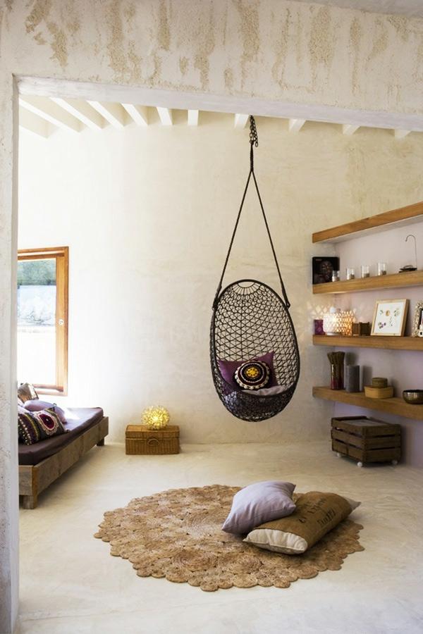 Le fauteuil suspendu id es superbes pour son installation - Les etageres funky d de quirky ...