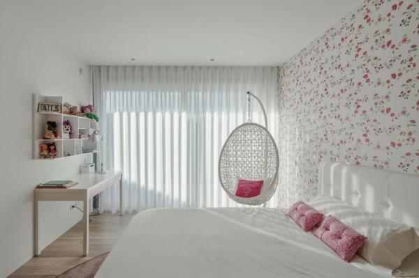 fauteuil-suspendu-chambre-à-coucher-charmante