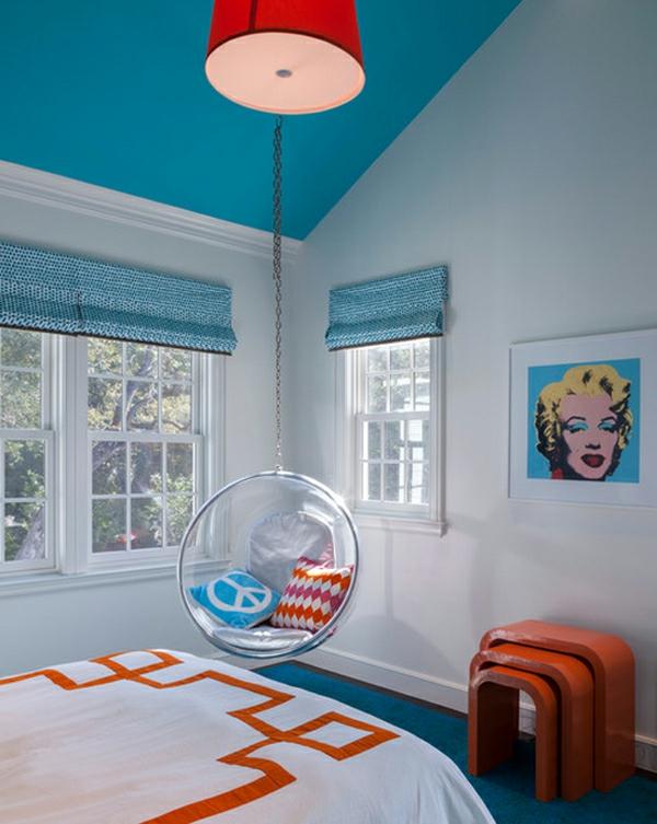 fauteuil-suspendu-peinture-Mariline-Monroe