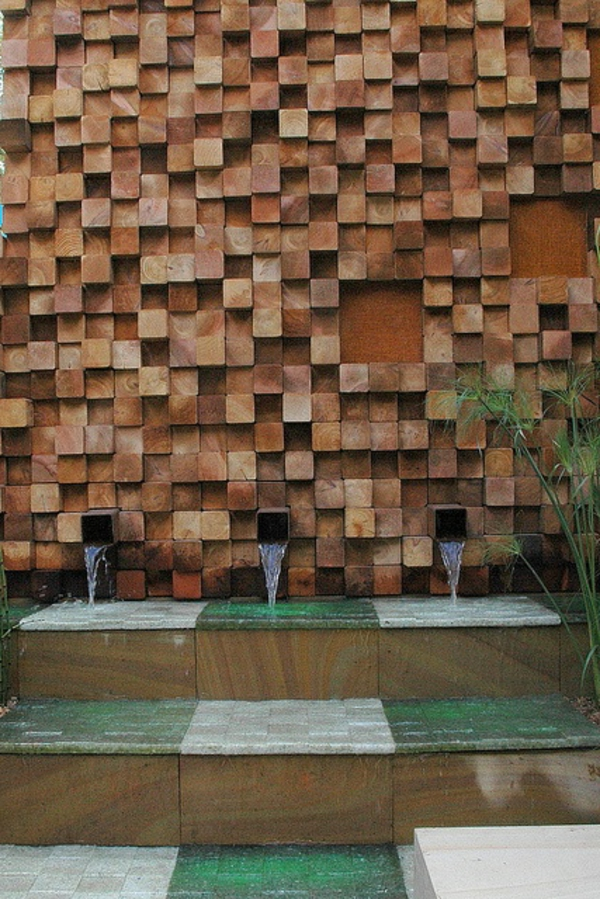 fontaine-murale-décoration-mozaique