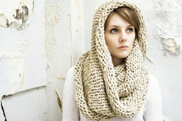 foulard-tube-écharpe-bouchon-beige