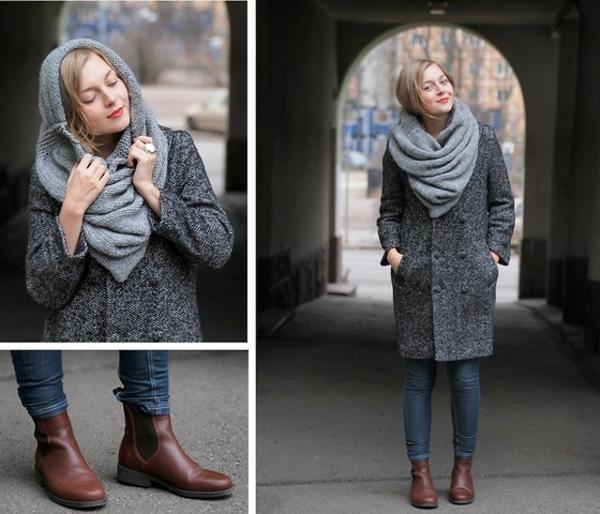 foulard-tube-gris