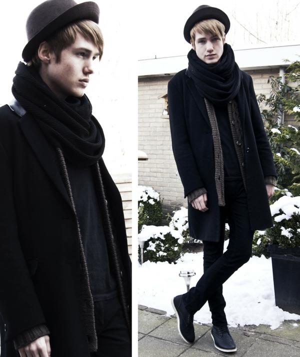 foulard-tube-noir
