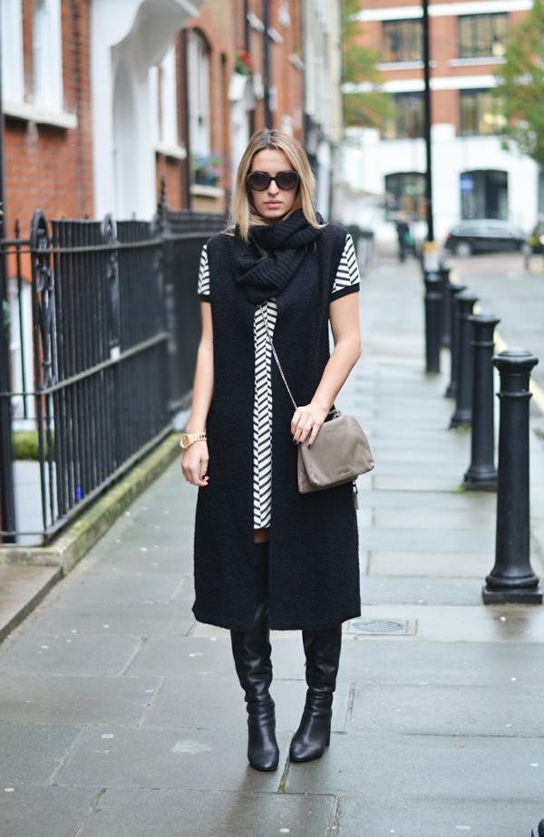 foulard-tube-tenue-en-noir-et-blanc