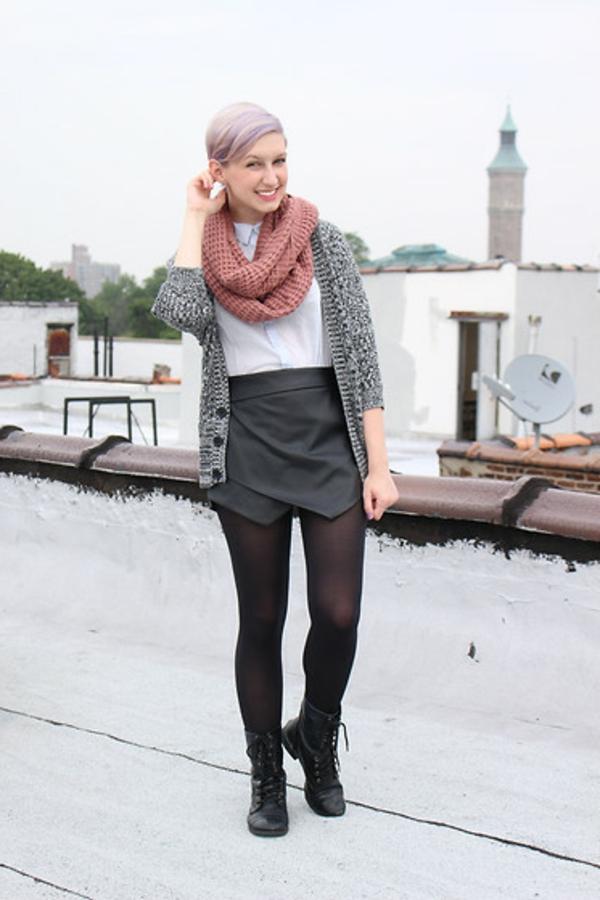 foulard-tube-tricoté