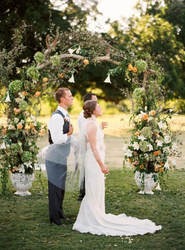Id es de d co pour mariage champ tre - Idee de pose pour photo de mariage ...