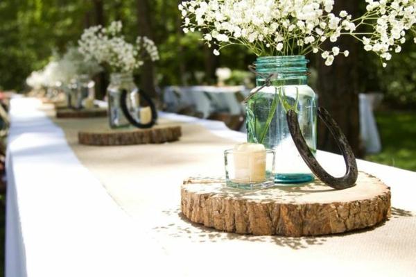 id es de d co pour mariage champ tre. Black Bedroom Furniture Sets. Home Design Ideas