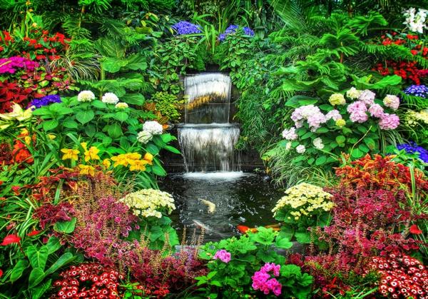designs jolis et spectaculaires de jardin aquatique. Black Bedroom Furniture Sets. Home Design Ideas