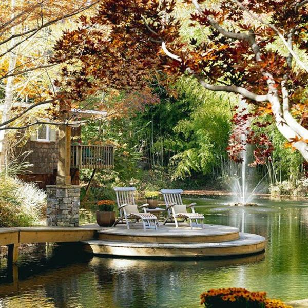 jardin-aquatique-espace-extérieur-splendide-avec-un-grand-bassin