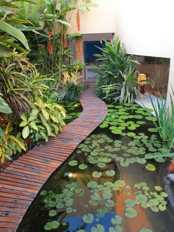 Designs jolis et spectaculaires de jardin aquatique for Jardin aquatique