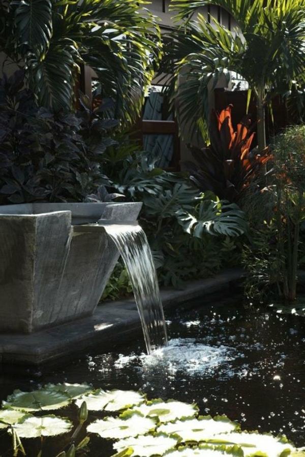 jardin-aquatique-une-fontaine-et-un-lac
