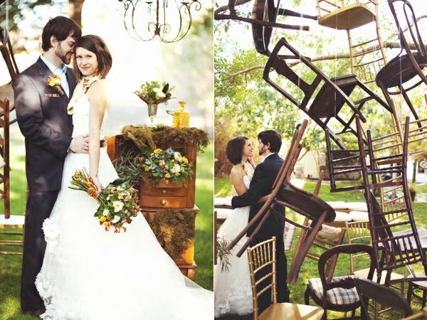 jolie-mariage-photosèavec-des-chaise