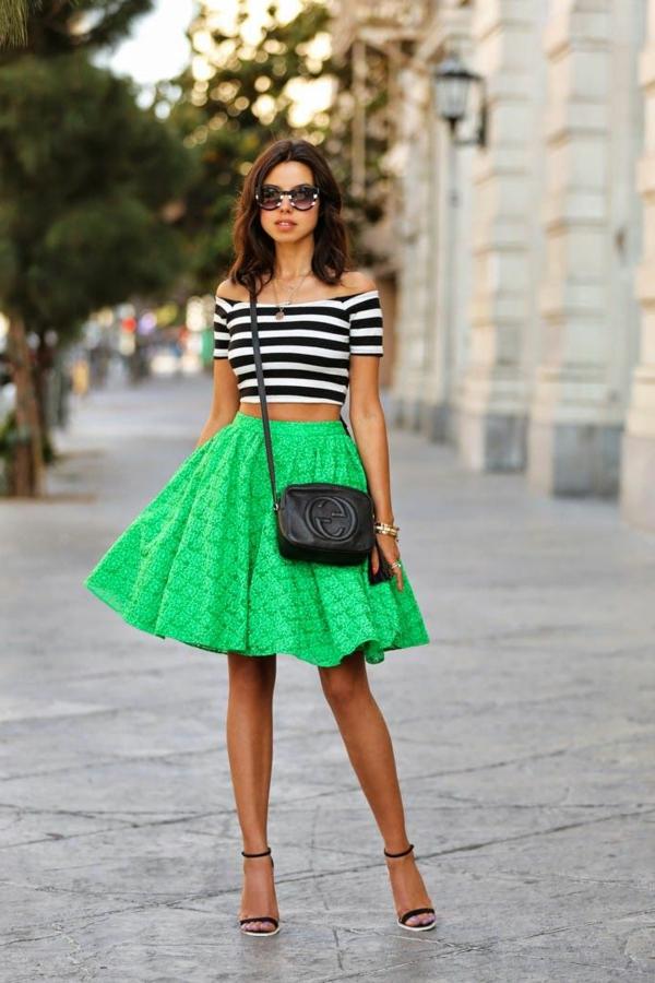 La jupe évasée - un style éternel! - Archzine.fr 23bd6b0918bf