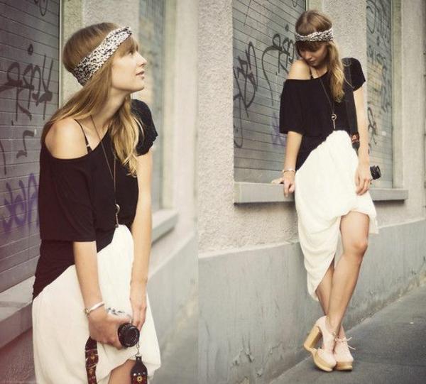 jupe-asymétrique-blanche-chaussures-plateformes