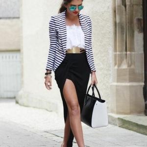 La jupe asymétrique, féérie et style