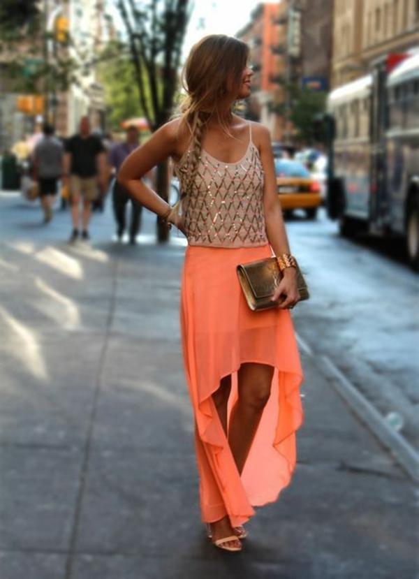 jupe-asymétrique-couleur-corail