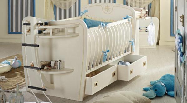 lit-evolutif-mixte-bebe-en-blanc-pour-votre-confort-pour-un-garçon- lit de bébé évolutif