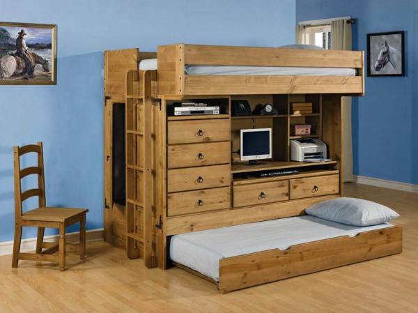 lit-surélevé-en-bois-avec-tiroirs