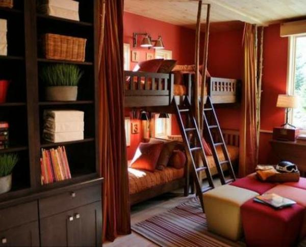 lits-superposés-chambre-à-coucher-cosy-et-belle