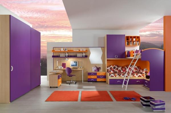 lits-superposés-chambre-à-coucher-magnifique